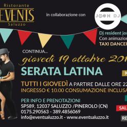 Events 19 ottobre latino americana A5