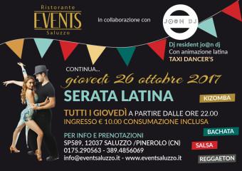 Events 26 ottobre latino americana A5