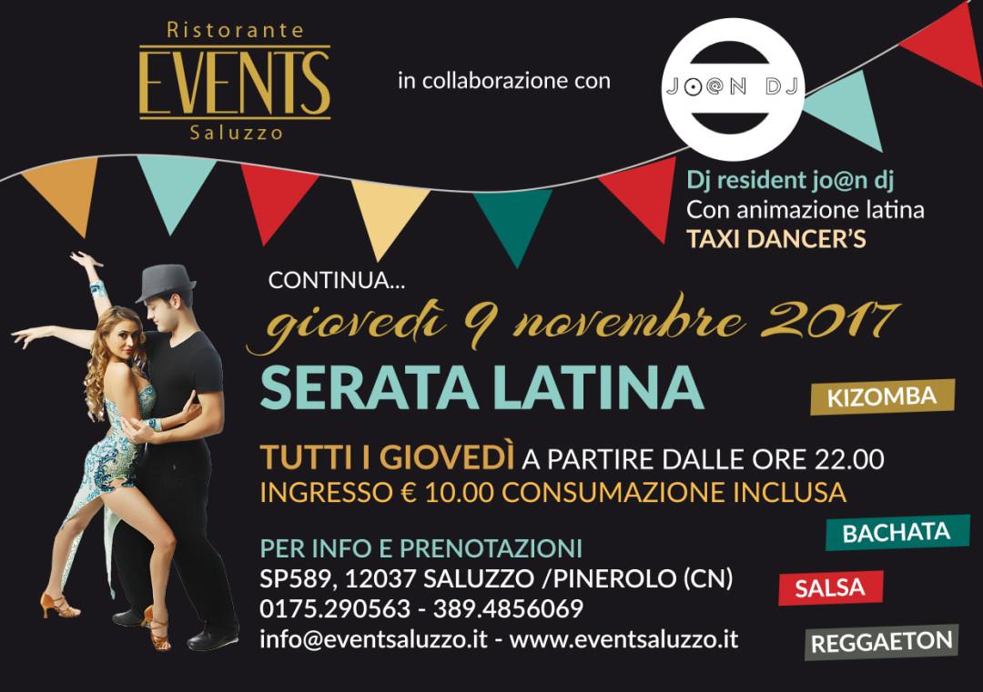 Events 9 novembre latino americana A5