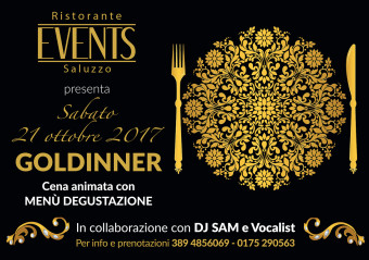 Events A5 21 ottobre 2017 GOLDINNER