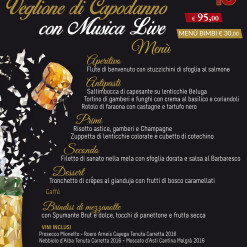 Events A5 CAPODANNO MENU