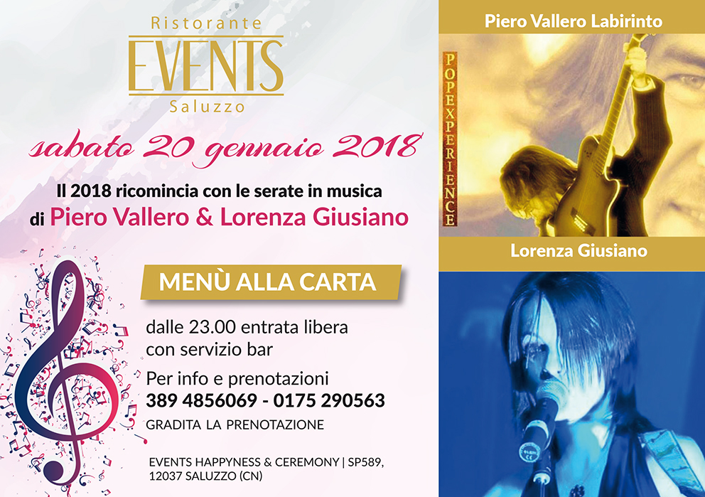 Events A5 20 gemmaio 2018
