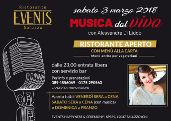 Events A5 3 marzo 2018