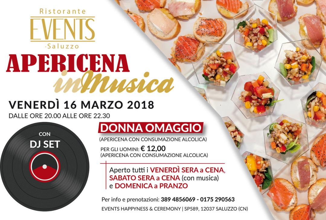 Events 16 marzo 2018
