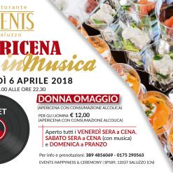 Events 6 aprile 2018