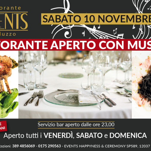 Events 10 novembre