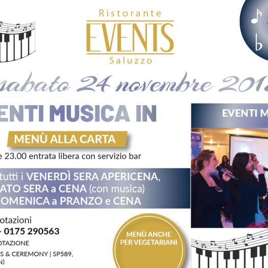 Events 24 novembre
