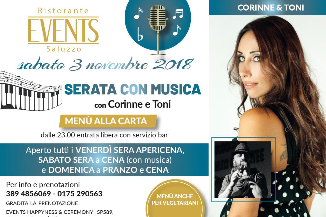Events 3 novembre musica