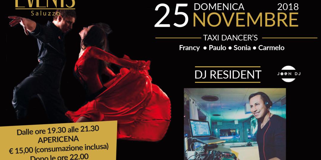 Events 25 novembre serata latina