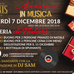 Events 7 dicembre apericena