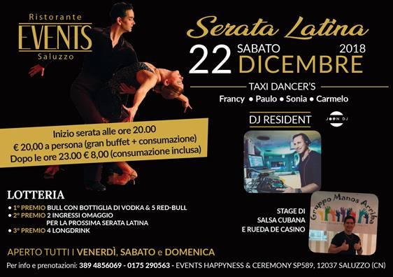 22 dicembre latino